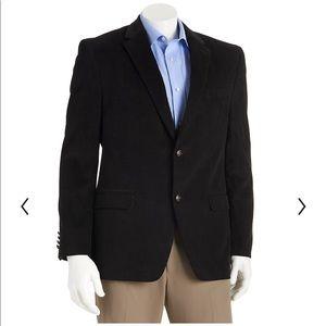Chaps plush corduroy sport coat elbow patches 42L